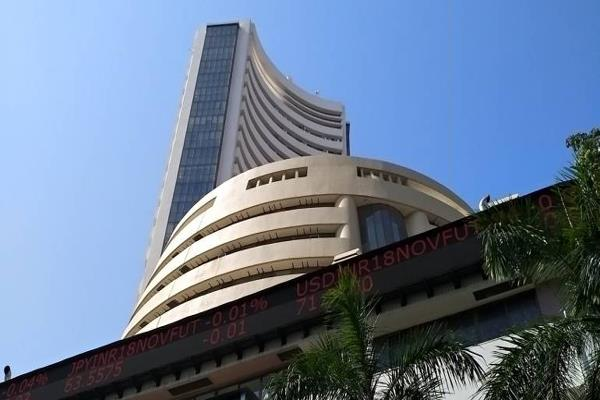 sensex down 382 pts on record high on record high