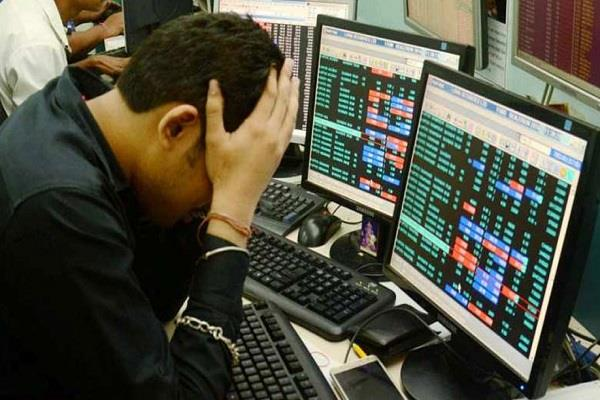 due to trade war and elections indian investors drown 104 7 billion