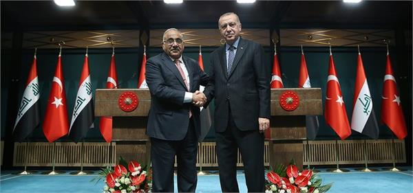 turkey iraq mull signing military cooperation trust agreement