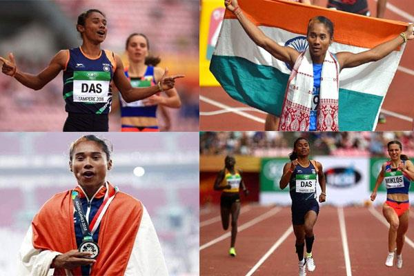 assam board 12th result 2019 first division athlete hima das