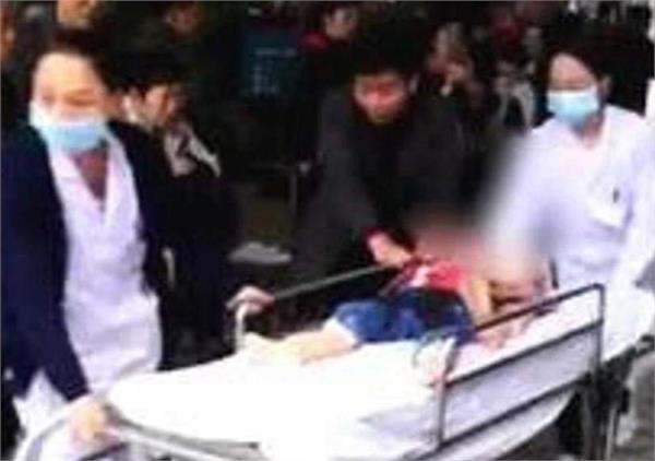 car ploughs into kindergarten kids in japan several injured