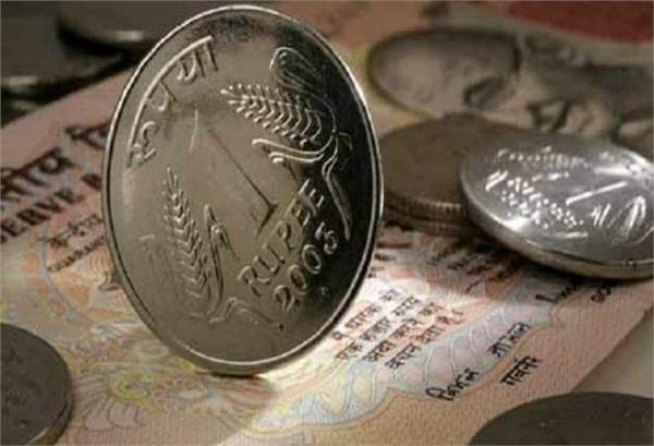 rupee up 12 paise in early trade