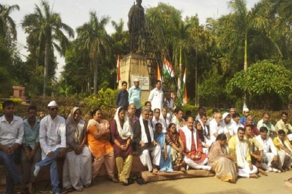 congress annoyed with statement of bjp mla