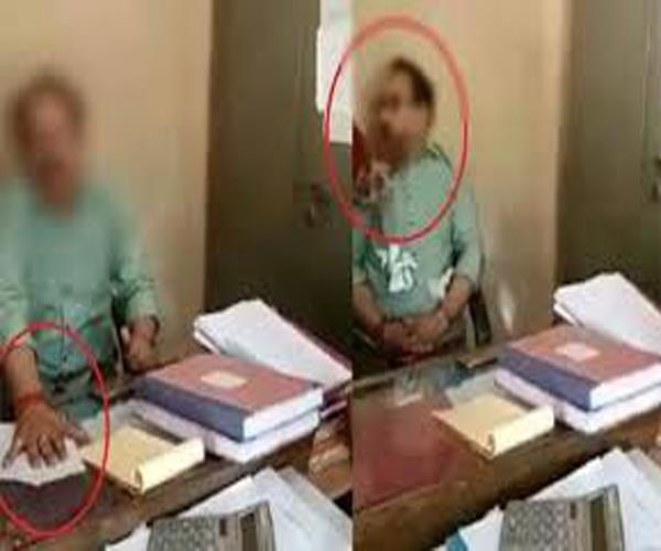 fir registered against woman accused of slapping corporation clerk