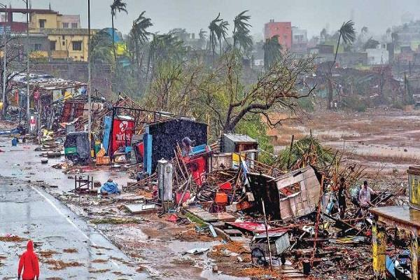 center will take stock of the damage caused by the cyclone fani