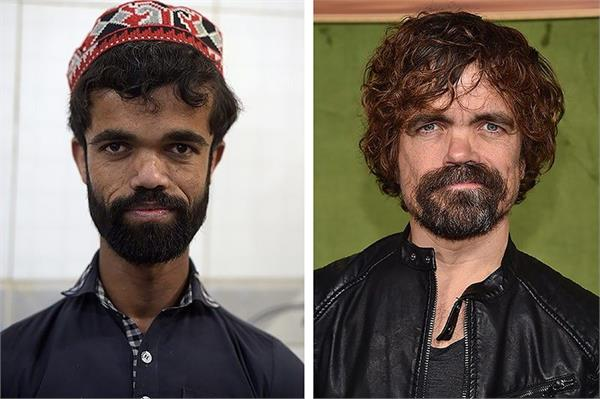 pakistani waiter finds fame as doppelganger for  game of thrones