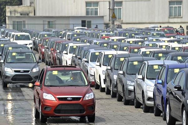 the production of vehicles will be interrupted by falling sales