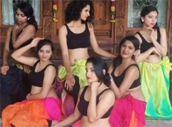 belly dance of 6 girls video viral