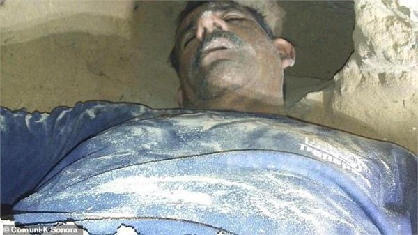 mexican man traps himself in hole dug to spy on his ex girlfriend