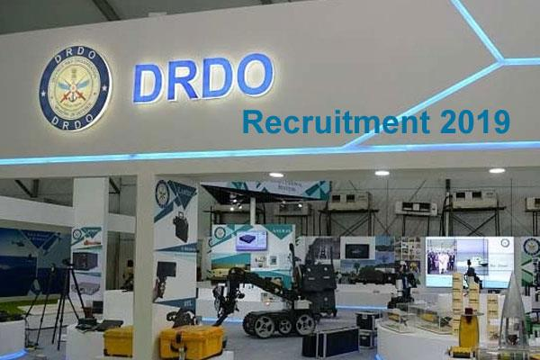 drdo recruitment 2019 recruitment for technician post
