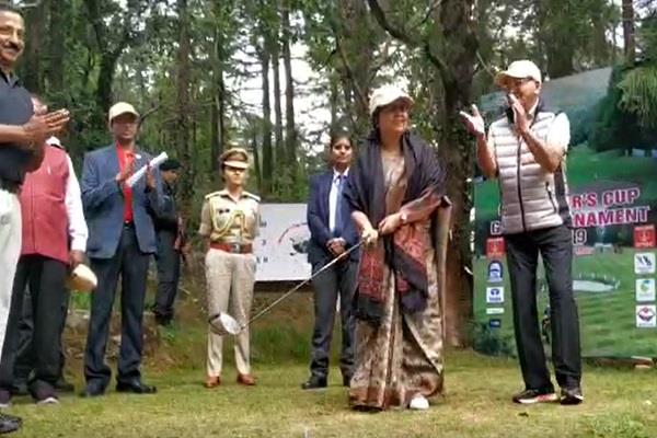 governor inaugurated the governors cup golf tournament