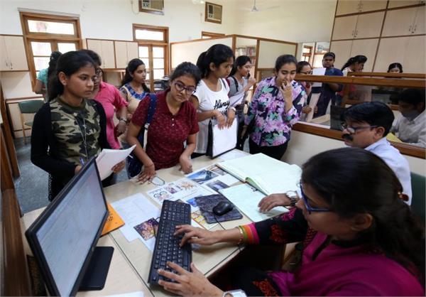 du admission process big change admission of evening colleges