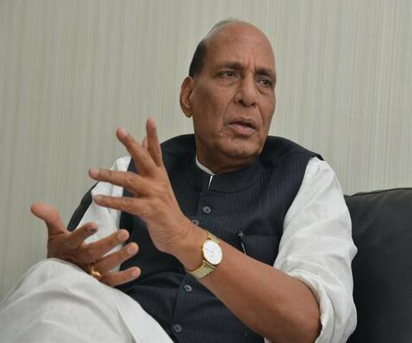 modi will get second term no challenge for me in lucknow rajnath