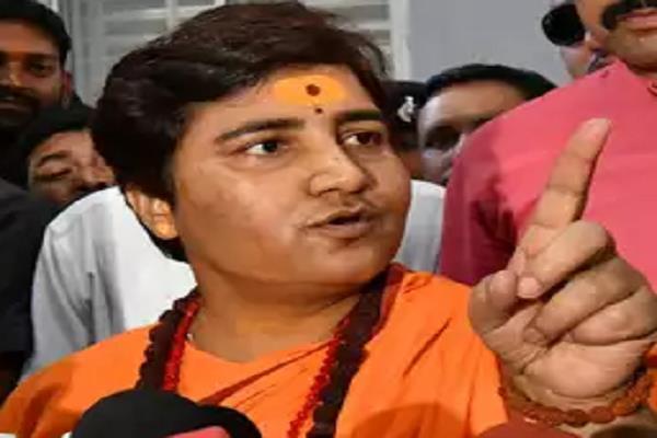 sadhvi pragya warned minister govind singh said