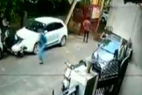 delhi social media video viral police