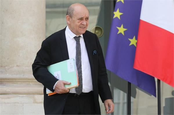 french fm urges iran to show  political maturity  over us