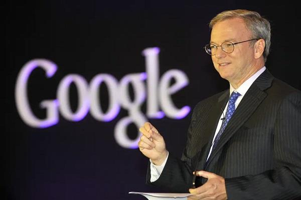 eric schmidt leaves google board