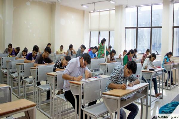 the last day of the aiims mbbs entrance examination today