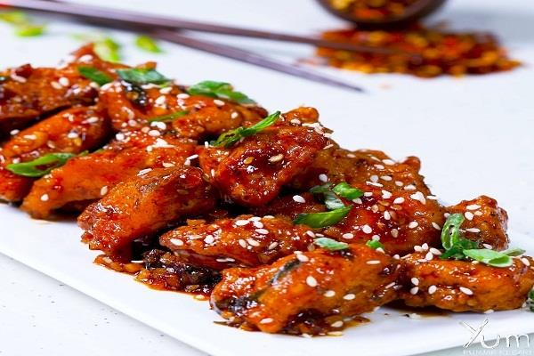 how to make recipe honey chilli chicken