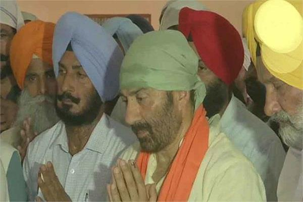 sunny deol in trouble
