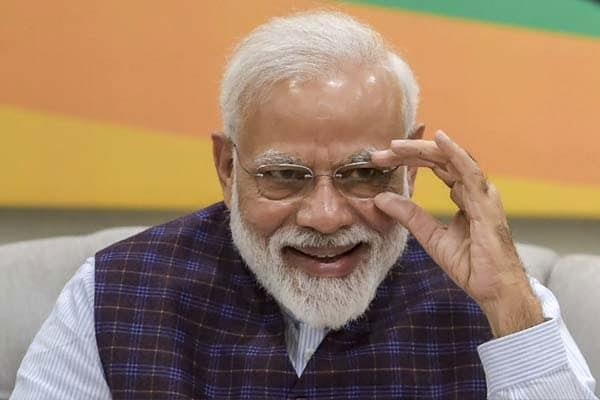 pm modi was confident of becoming pm again