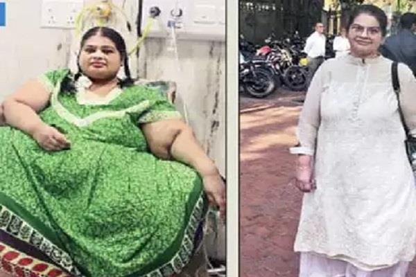 the woman loss 214 kg weight in 4 years