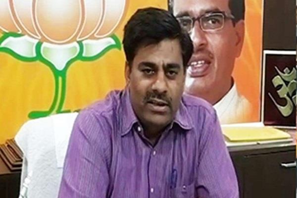 fir lodged against bjp mla rameshwar sharma in question