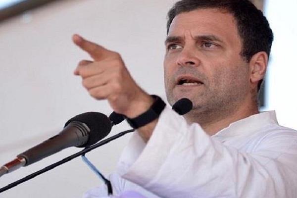 rahul gandhi s accusation pm modi pays five lakh crores