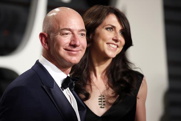 jeff bezos s ex wife mackenzie will donate half his property
