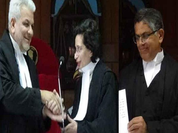 two new judges