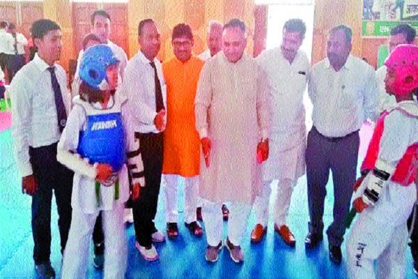 state government is promoting sports jain