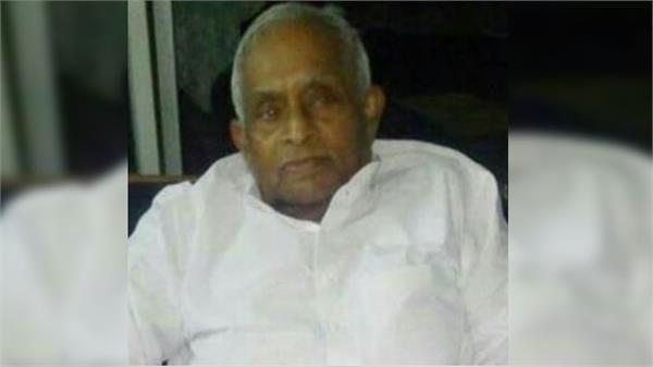 senior congress leader and former mp ram nihor rakesh