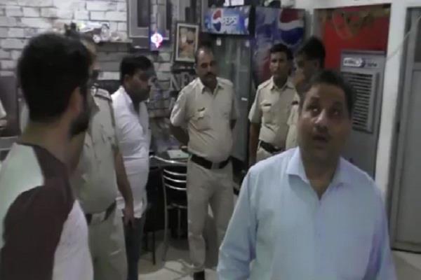 illegal liquor raid