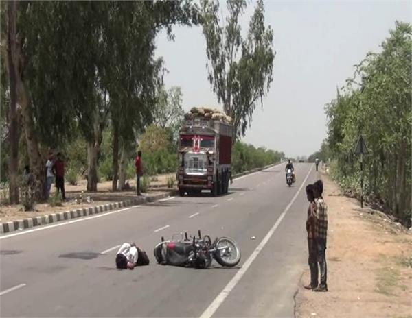 youth injured road accident
