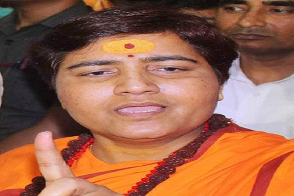 for safety if necessary it should be banned on the burqa sadhvi pragya