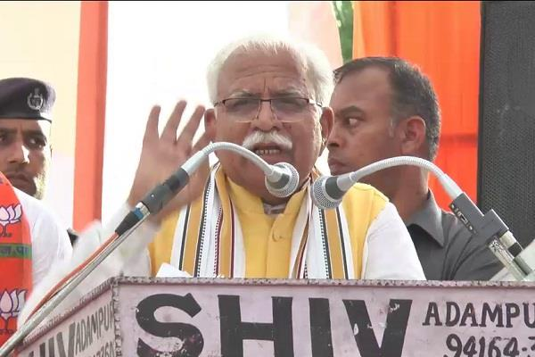 manohar lal said people of the state are my family