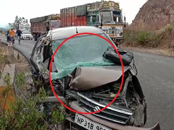 painful incident on chandigarh manali nh 205