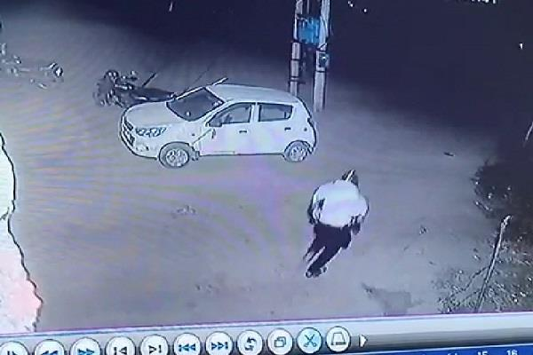 photos of the attack captured by bal baal deshwal cctv
