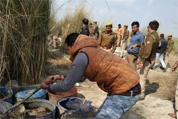 8 liquor smugglers arrested in balrampur 150 liters of liquor recovered