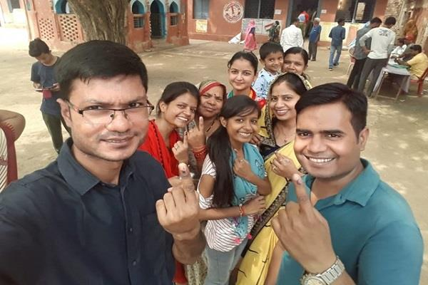 to craze for voting so much craze reaching lakhs of people from abroad