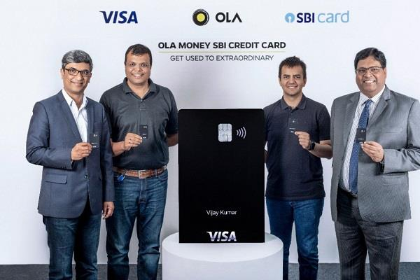 ola launches its credit card with sbi