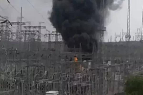 lightning fires in indore electric grid