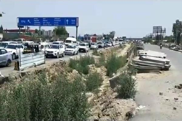 the widening of the nh 44 was stalled by six months pm modi had