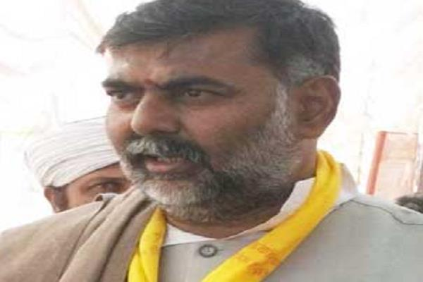 bjp candidate accused of hijacking polling agent imposed during polling