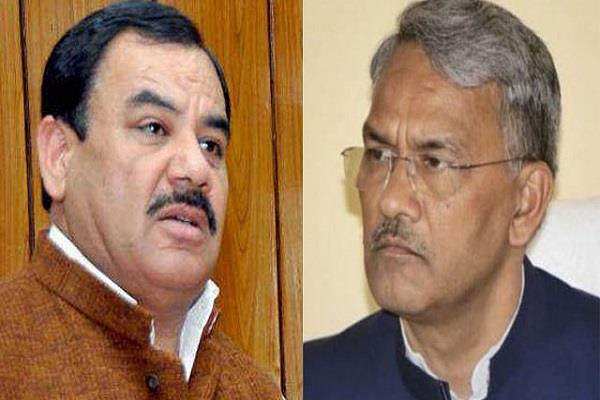 cm rawat completes demands of forest minister