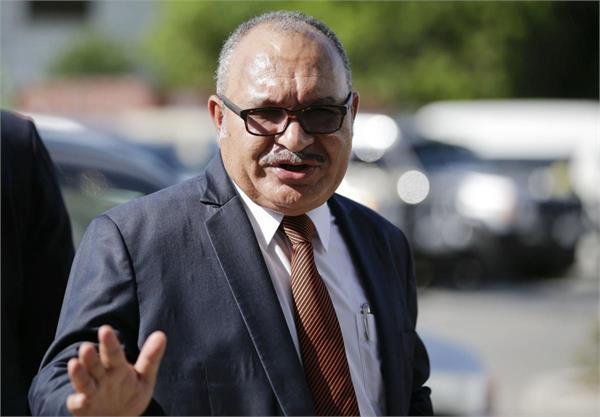 prime minister of papua new guinea resigned