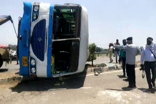 10 people injured after bus attack deteriorates