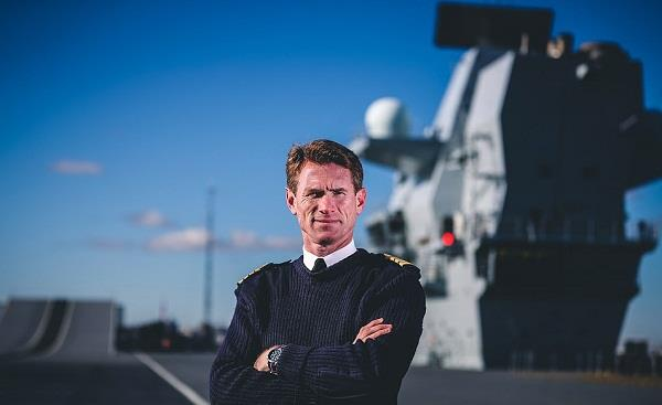 hms queen elizabeth captain removed from post