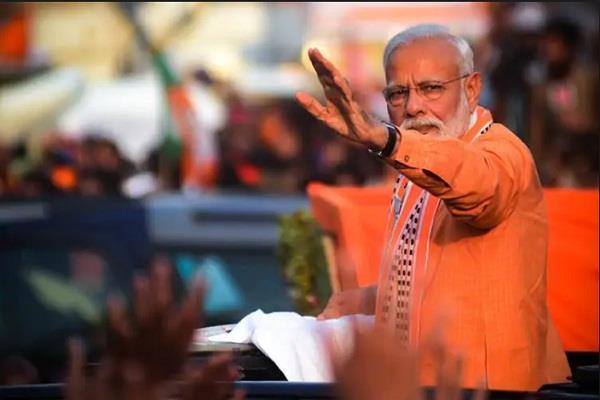 pm modi may be in varanasi on voting day
