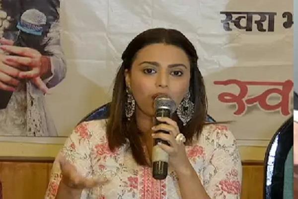 swara bhaskar s attack on sadhvi pragya